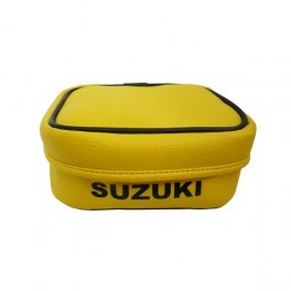 SUZUKI SMALL REAR FENDER TOOL BAG YELLOW