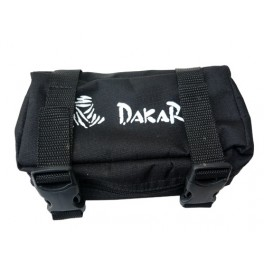 DAKAR RACING REAR FENDER BAG COMPACT NYLON BLACK