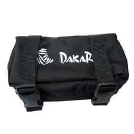 DAKAR RACING REAR FENDER BAG COMPACT NYLON BLACK