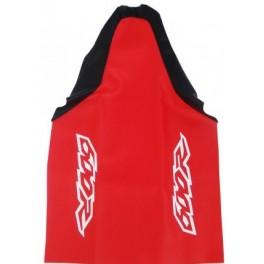 HONDA SEAT COVER RED BLACK XR600 KEVLAR