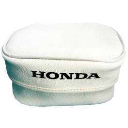 HONDA GENUINE LEATHER REAR FENDER TOOL BAG SMALL WHITE