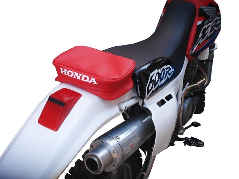 HONDA XR REAR FENDER TOOL BAG OEM REPLICA RED