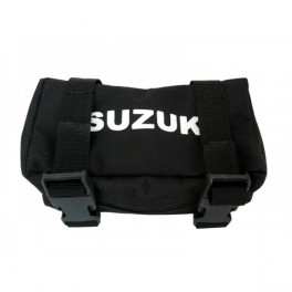 SUZUKI CLASSIC REAR FENDER TOOL BAG  NYLON BLACK
