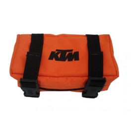 KTM DIRT BIKE REAR FENDER TOOL BAG NYLON ORANGE