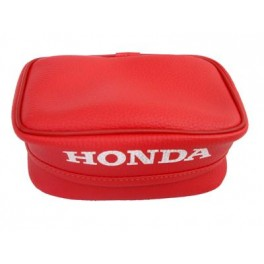 HONDA XR REAR FENDER BAG RED SMALL RED OEM REPLICA