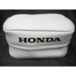 HONDA XR REAR FENDER BAG RED SMALL WHITE OEM REPLICA