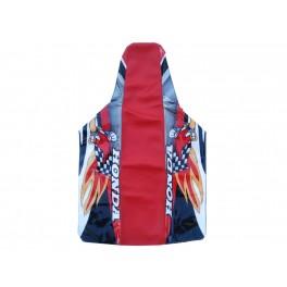 HONDA SEAT COVER RED WOODY