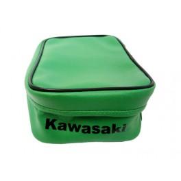 KAWASAKI KDX200 REAR FENDER BAG GREEN OEM REPLICA