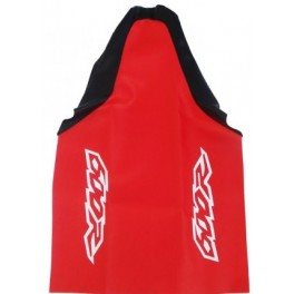 HONDA SEAT COVER RED BLACK XR600 KEVLAR